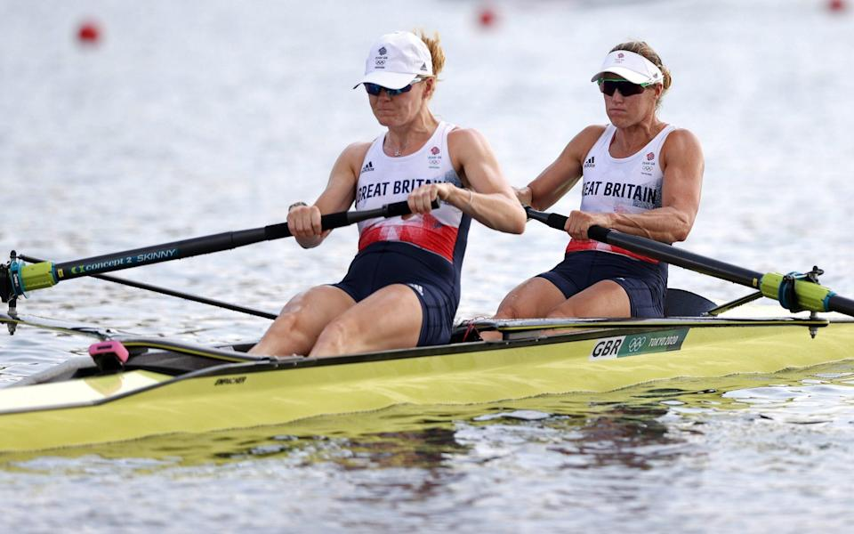 tokyo olympics 2020 live rowing gymnastics shooting boxing 2021 gb - GETTY IMAGES