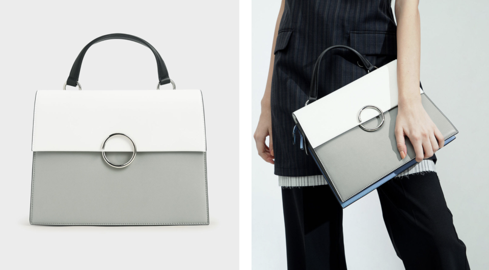 Charles & Keith top handle bag. (PHOTO: Charles & Keith)