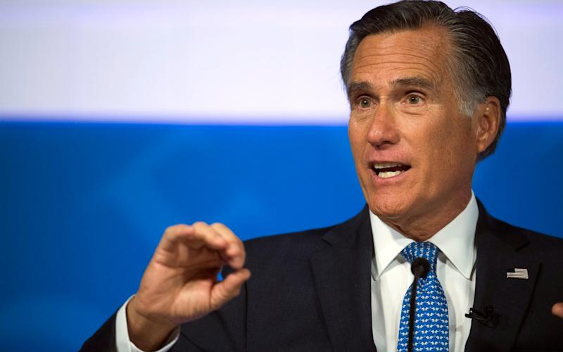 Mitt Romney was the Republican presidential nominee in 2012 before becoming a Utah senator - The Spectrum