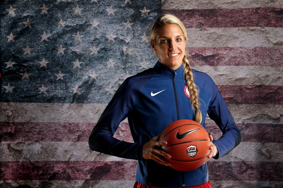 Elena Delle Donne is making her Olympic debut in Rio. (Getty Images)