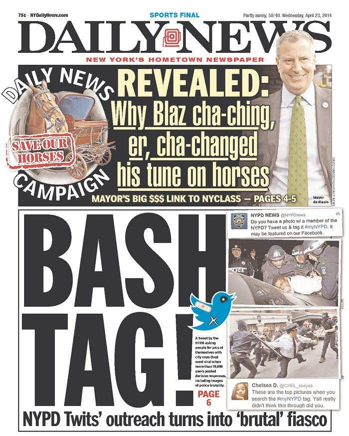 Daily News bashtag