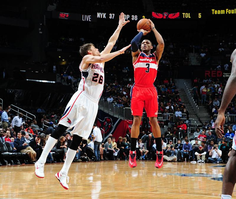 Wall leads Wizards past slumping Hawks, 114-97