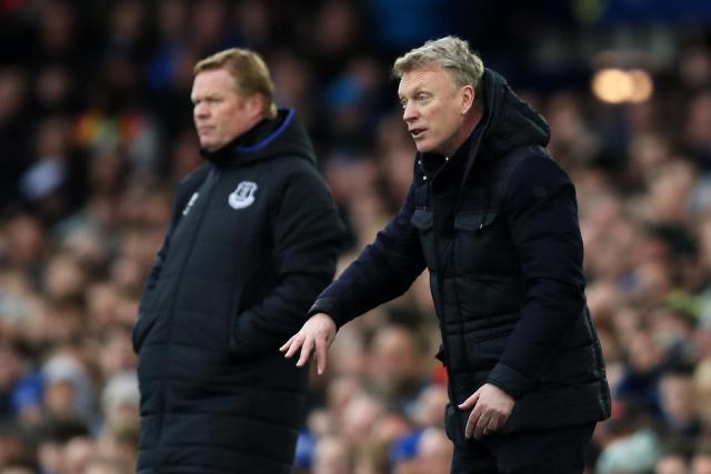 """Could David Moyes return to <a class=""""link rapid-noclick-resp"""" href=""""/soccer/teams/everton/"""" data-ylk=""""slk:Everton"""">Everton</a> more than four years after leaving for <a class=""""link rapid-noclick-resp"""" href=""""/soccer/teams/manchester-united/"""" data-ylk=""""slk:Manchester United"""">Manchester United</a>? (Getty)"""