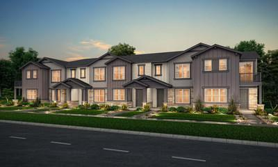 Townhomes at Coal Creek Commons in Erie, CO   Century Communities