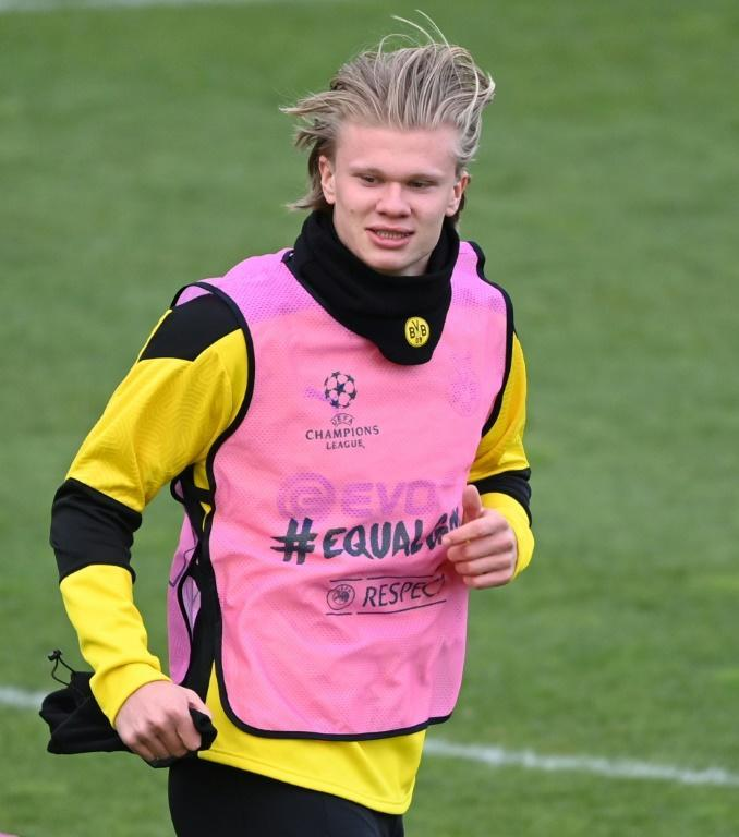 Erling Braut Haaland and Borussia Dortmund take on Manchester City on Wednesday evening