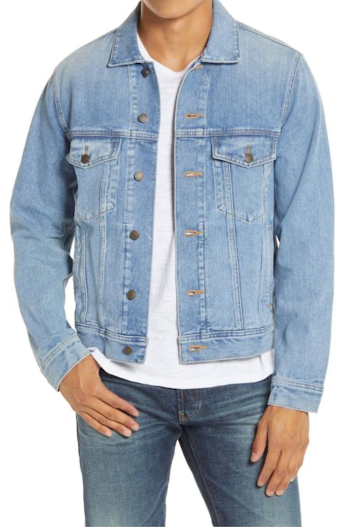 denim jacket trucker madewell