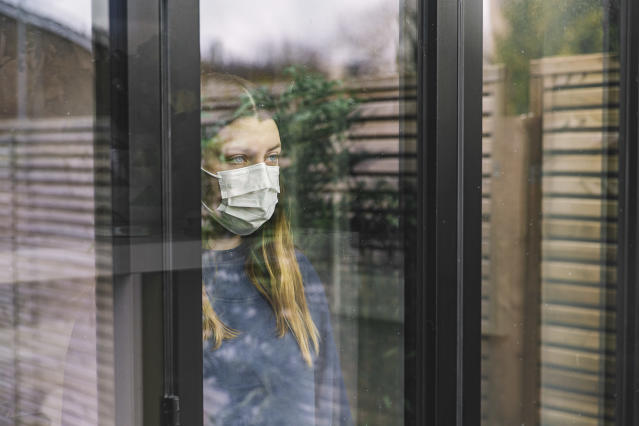 The World Health Organization has warned of a mental health crisis as a result of coronavirus. (Getty/posed by model)