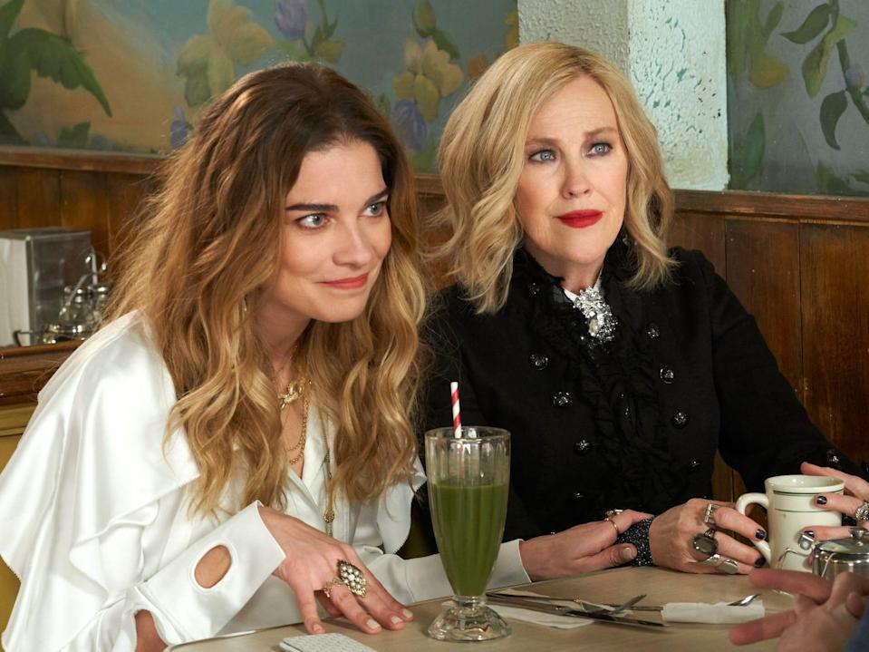 Alexis and Moira Schitt's Creek season six PopTV