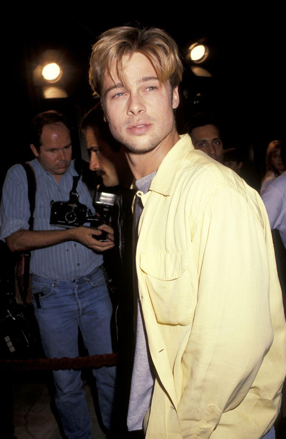 <p>Brad Pitt had his big breakthrough in the '90s, when he became a bonafide star and worldwide heartthrob thanks to films like <em>Interview with the Vampire, Legend of the Falls, </em>and<em> Seven</em>. He was basically on top of the world. </p>