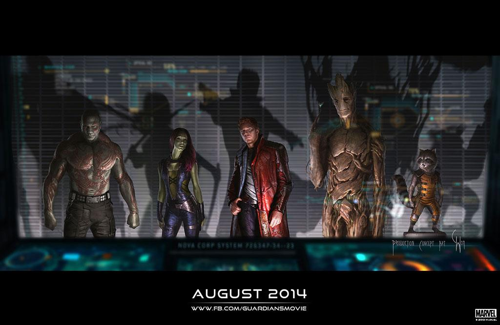 """Concept Art for Marvel Studio's """"Guardians of the Galaxy"""" - 2014"""