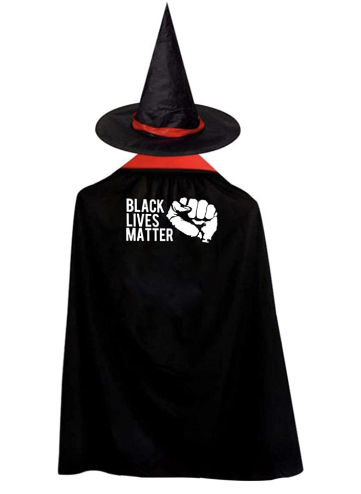 Black Lives Matter cloaks and capes are on offer. (Photo: Amazon.com)