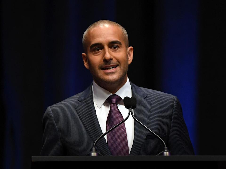 UFC play-by-play commentator Jon Anik: Getty