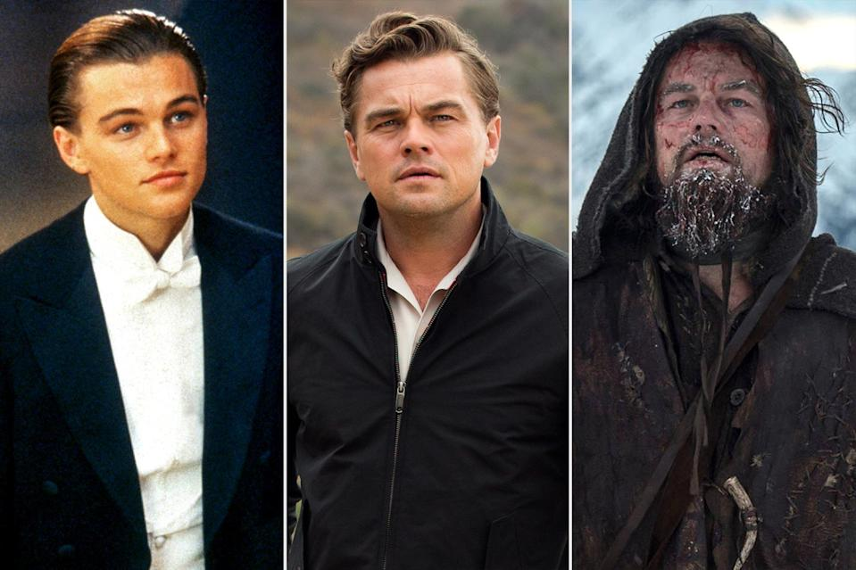 """<p>If there was a picture next to """"movie star"""" in the dictionary, it would be of <a href=""""https://ew.com/tag/leonardo-dicaprio/"""" rel=""""nofollow noopener"""" target=""""_blank"""" data-ylk=""""slk:Leonardo DiCaprio"""" class=""""link rapid-noclick-resp"""">Leonardo DiCaprio</a>. For almost 30 years he's been a potent presence on the big screen, scoring an Oscar nomination at the age of 19 and earning six more throughout his dynamic career, before finally winning in 2016. But perhaps his most impressive achievement is managing in a superhero and IP-dominated world to turn any film he stars in into an event, whether he's trying to stave off death in the cold wilderness or stave off irrelevance in 1960s Hollywood. With apologies to <a href=""""https://ew.com/creative-work/growing-pains/"""" rel=""""nofollow noopener"""" target=""""_blank"""" data-ylk=""""slk:Growing Pains"""" class=""""link rapid-noclick-resp""""><i>Growing Pains</i></a> and <a href=""""https://ew.com/article/2001/02/23/plum-role-all-about-little-known-tobey-maguire-and-leonardo-dicaprio-movie/"""" rel=""""nofollow noopener"""" target=""""_blank"""" data-ylk=""""slk:Don's Plum"""" class=""""link rapid-noclick-resp""""><i>Don's Plum</i></a>, which he's made sure <a href=""""https://ew.com/article/2016/01/27/leonardo-dicaprio-dons-plum-released-online/"""" rel=""""nofollow noopener"""" target=""""_blank"""" data-ylk=""""slk:will never be legally seen"""" class=""""link rapid-noclick-resp"""">will never be legally seen</a>, here's our ranking of every one of his film performances, a.k.a. the Body of Leo.</p>"""