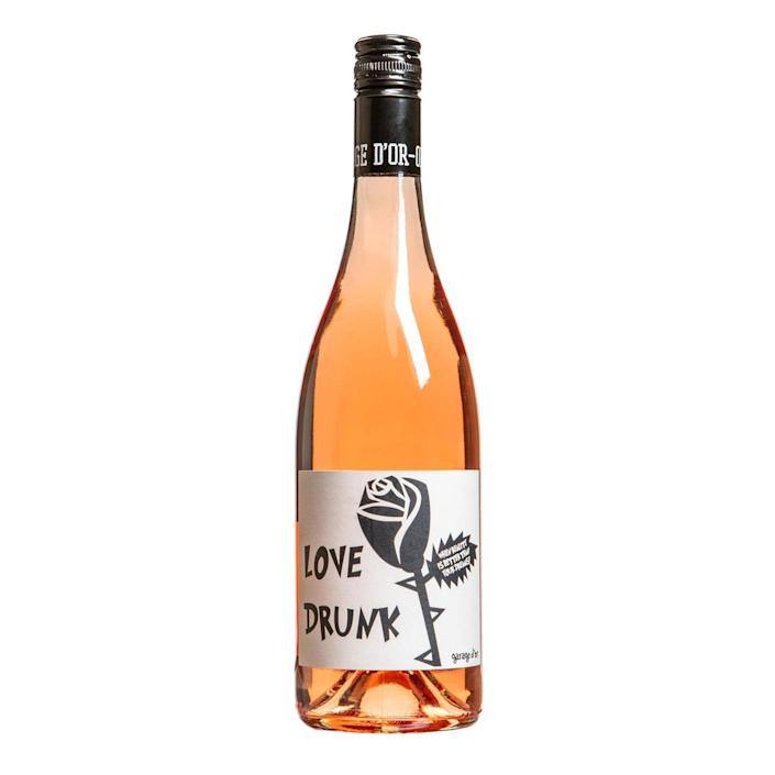 """A lightly sweet, strawberry-tinged rosé from Oregon's Willamette Valley. Maison Noir is the latest project from sommelier André Hueston Mack, who started his career in finance before becoming the head sommelier at Per Se in New York. Known for their cheeky, easy-drinking wines (Other People's Pinot Noir is another favorite) Maison Noir counts LeBron James as a fan. $22, Drizly. <a href=""""https://drizly.com/wine/rose-wine/maison-noir-love-drunk-rose/p17448"""" rel=""""nofollow noopener"""" target=""""_blank"""" data-ylk=""""slk:Get it now!"""" class=""""link rapid-noclick-resp"""">Get it now!</a>"""
