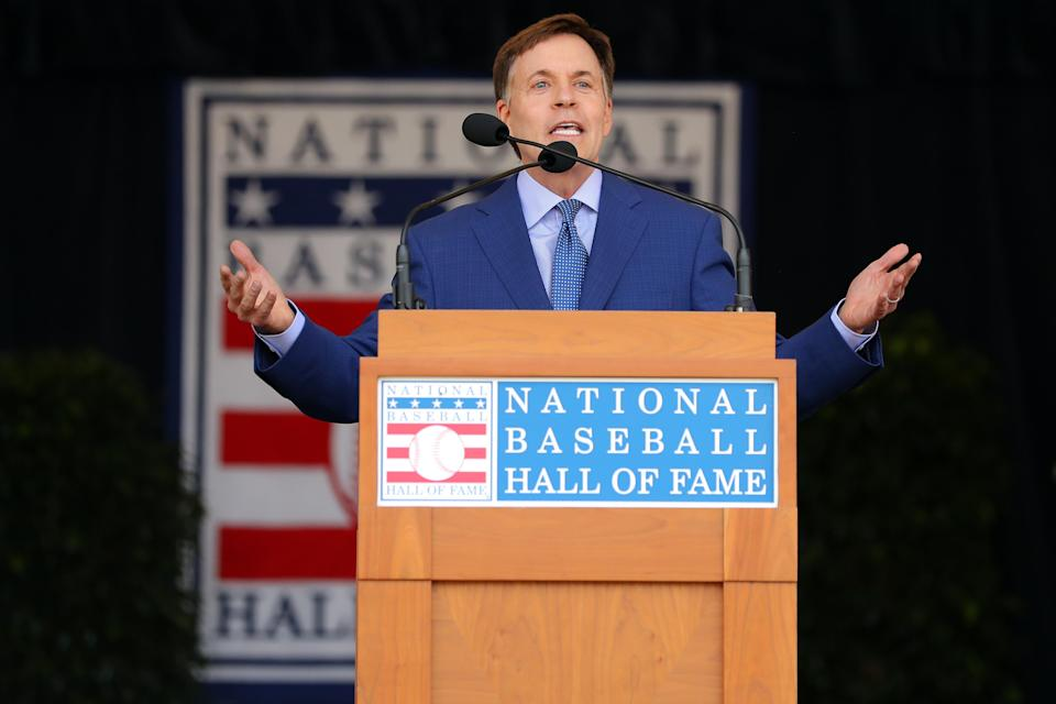 Bob Costas is reportedly in negotiations with NBC to leave the network, where he's been since 1979. (Photo by Alex Trautwig/MLB Photos via Getty Images)