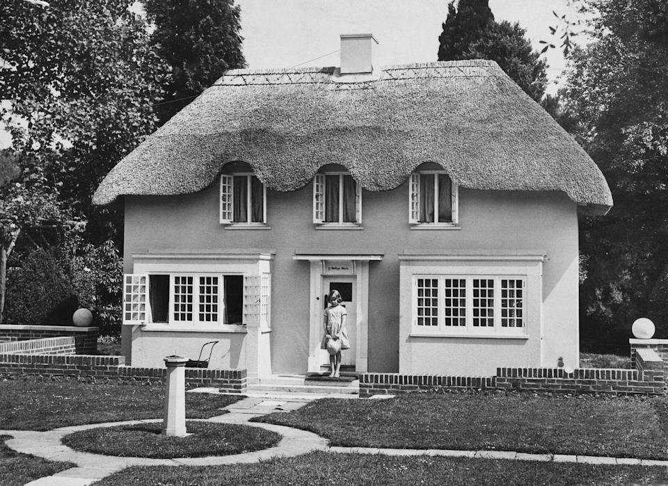 "<p>Y Bwthyn Bach or ""The Little Cottage"" was gifted to then Princess Elizabeth by the Welsh people in 1932. The miniature thatched cottage has remained on the same grounds as the Royal Lodge since then, serving as the official royal playhouse for generations. </p>"