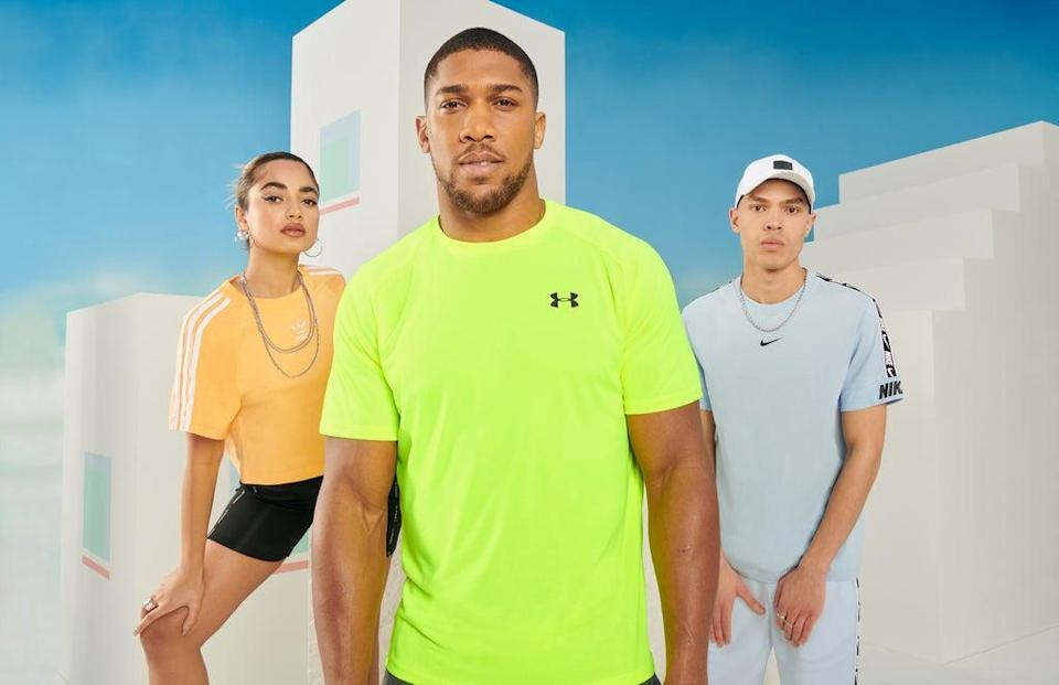 JD Sports sales have jumped on the back of online growth and pent-up demand from shoppers in stores (JD Sports/PA)