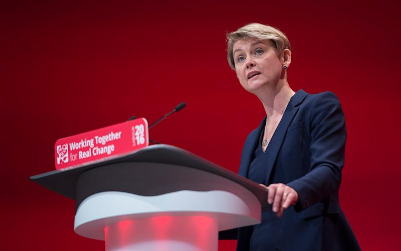 Yvette Cooper, the chair of the Home Affairs Select Committee - Credit: Eddie Mulholland for The Telegraph