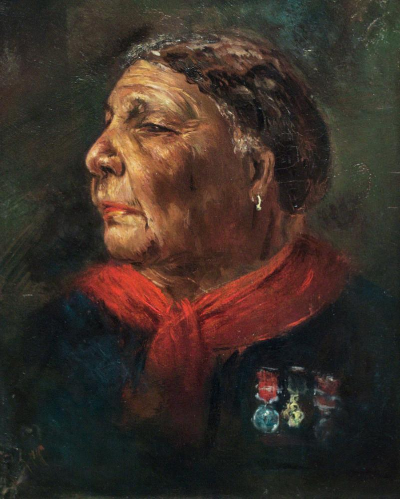 A portrait of Mary Seacole, held in the National Portrait Gallery in London.