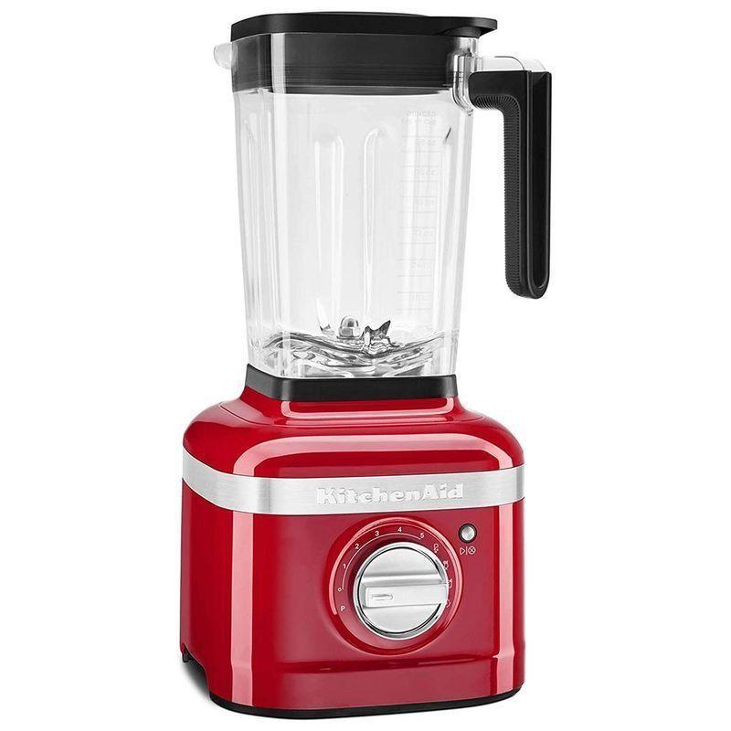 """<p><strong>KitchenAid</strong></p><p>amazon.com</p><p><strong>$269.99</strong></p><p><a href=""""https://www.amazon.com/dp/B07WHFBL5X?tag=syn-yahoo-20&ascsubtag=%5Bartid%7C10055.g.4864%5Bsrc%7Cyahoo-us"""" rel=""""nofollow noopener"""" target=""""_blank"""" data-ylk=""""slk:Shop Now"""" class=""""link rapid-noclick-resp"""">Shop Now</a></p><p>This pretty blender claims to blend """"even the toughest ingredients, from kale to almonds'' and it passed our test with flying colors – we couldn't taste the kale in our smoothie, <strong>it crushed ice into snow-like consistency, and it even blended chia seeds smoothly.</strong> It features easy-to-use presets for crushing ice, smoothies, and icy drinks. Plus, a little soap and water added to the self-clean cycle makes sure no food bits are left behind in hard-to-reach spots. In our tests we noticed that the """"Start"""" button is a little small and sometimes needed to be pressed several times to activate. We love its sleek design and lower price point compared to similar high-powered blenders. You can pick from a variety of fun colors.</p>"""