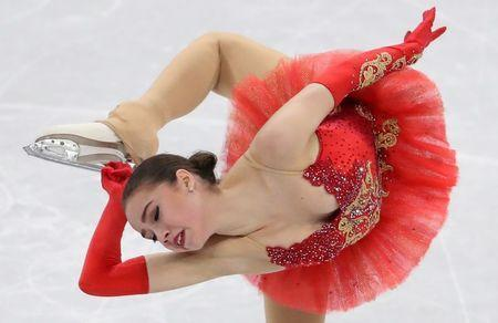 Figure Skating - Pyeongchang 2018 Winter Olympics - Women Single Skating free skating competition final - Gangneung Ice Arena - Gangneung, South Korea - February 23, 2018 - Alina Zagitova, an Olympic Athlete from Russia, competes. REUTERS/Lucy Nicholson