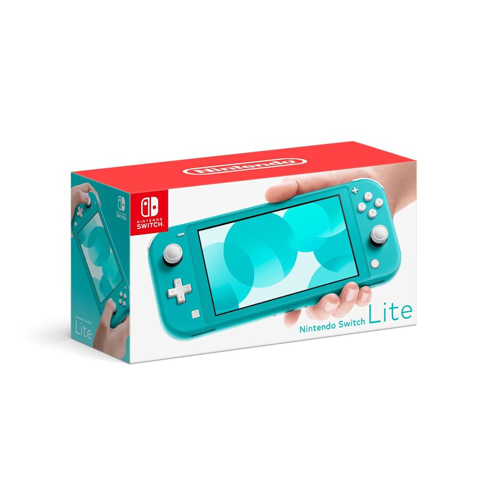 <p>Teenagers will love this <span>Nintendo Switch Lite Console</span> ($199).</p>