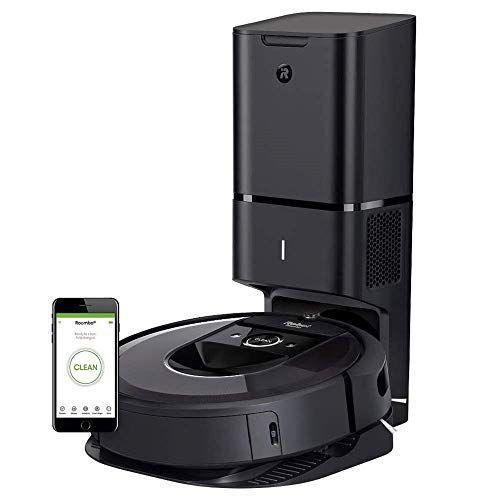 """<p><strong>iRobot</strong></p><p>amazon.com</p><p><strong>$649.00</strong></p><p><a href=""""https://www.amazon.com/dp/B07GNPDMRP?tag=syn-yahoo-20&ascsubtag=%5Bartid%7C10055.g.27206827%5Bsrc%7Cyahoo-us"""" rel=""""nofollow noopener"""" target=""""_blank"""" data-ylk=""""slk:Shop Now"""" class=""""link rapid-noclick-resp"""">Shop Now</a></p><p>This robot vac is almost better than a housekeeper. Sure, it does the usual things like pick up pet hair and clean under the bed, but that's just the beginning. Whenever Roomba find its way """"home,"""" <strong>it dispenses the debris it's collected into the base</strong> so it's ready to go again. It's easy to program and we love the sealable, replaceable, dust bag in the base. It isn't messy to empty like other robots are, so it's perfect for allergy sufferers. </p>"""