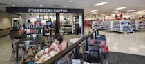 <p>Did you even go to Target if you don't stop by the Starbucks kiosk? Typically, there's no line, so you can get your venti mochachino in no time. </p>