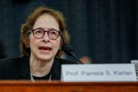 House Judiciary Committee holds hearing on the Trump impeachment Inquiry on Capitol Hill in Washington