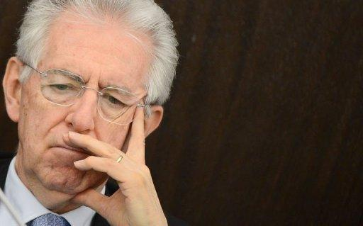 Monti says Italy austerity may have saved eurozone