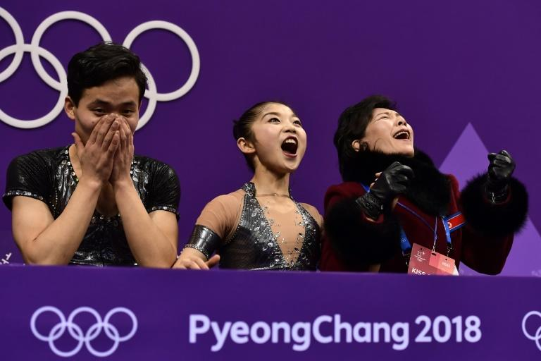 North Korean skaters Ryom Tae Ok and Kim Ju Sik produced the performance of their lives to smash their personal-best score and qualify for Thurday's pairs final at the Winter Olympics