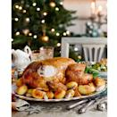 """<p>The ultimate Christmas turkey recipe, with a simple and delicious honey and mustard glaze.</p><p><strong>Recipe: <a href=""""https://www.goodhousekeeping.com/uk/christmas/christmas-recipes/a558090/honey-glazed-turkey-with-gravy/"""" rel=""""nofollow noopener"""" target=""""_blank"""" data-ylk=""""slk:Honey-glazed turkey with gravy"""" class=""""link rapid-noclick-resp"""">Honey-glazed turkey with gravy </a></strong></p>"""