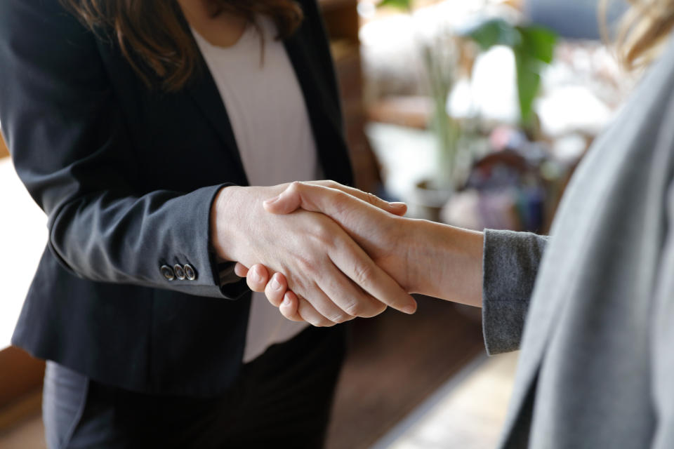 Australians may be more hesitant to shake hands with strangers when the pandemic is over. Source: Getty Images