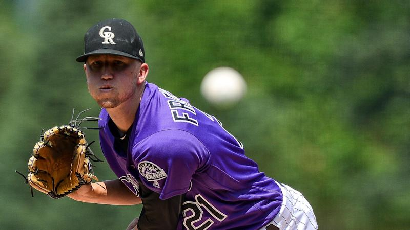 Rockies pitcher Kyle Freeland is a Cy Young contender, but he wouldn't pick himself. (Getty Images)