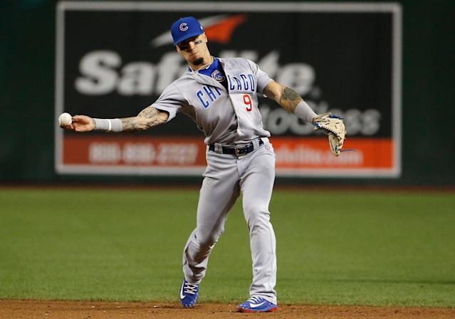 Regression could be in the cards for Javy Baez — or another career-year. (AP Photo/Ross D. Franklin)