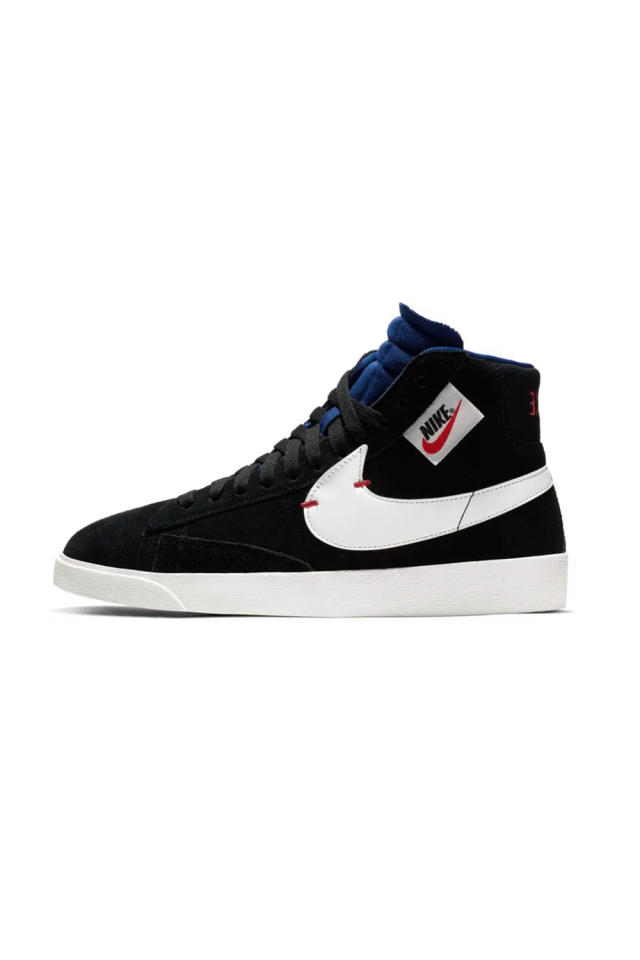 "<p><strong>Nike</strong></p><p>nike.com</p><p><strong>$59.97</strong></p><p><a rel=""nofollow"" href=""https://www.nike.com/t/blazer-mid-rebel-womens-shoe-qhprmh"">SHOP IT</a></p><p>The blaze style was  introduced by Nike in 1972, and has become a modern wardrobe  staple. This black pair of kicks can be worn with anything from camo pants to denim shorts and a t-shirt for that sporty street style look. </p>"