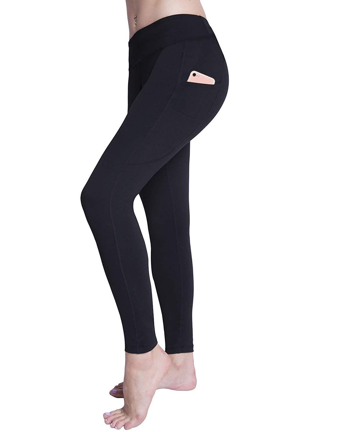 """<h3><a href=""""https://www.amazon.com/Raypose-Workout-Leggings-Pockets-785-Pink-XL/dp/B07KVZDNFN"""" rel=""""nofollow noopener"""" target=""""_blank"""" data-ylk=""""slk:High-Waist Leggings With Side Pockets"""" class=""""link rapid-noclick-resp"""">High-Waist Leggings With Side Pockets</a> </h3> <p>4.5 out of 5 stars and 121 reviews</p> <p><strong>Promising Review:</strong> For all you Lululemon fans out there, <a href=""""https://www.amazon.com/gp/customer-reviews/R12TXE0NX8EFYZ/"""" rel=""""nofollow noopener"""" target=""""_blank"""" data-ylk=""""slk:user Rebecca says"""" class=""""link rapid-noclick-resp"""">user Rebecca says</a> these are """"definitely comparable"""" but at a fraction of the price. """"LOVE THEM!"""" she says. """"They fit incredibly well and are so comfy for going on runs or just running errands.""""</p> <br> <br> <strong>Raypose</strong> High Waist Leggings With Pocket, $15, available at <a href=""""https://www.amazon.com/Raypose-Workout-Leggings-Pockets-785-Pink-XL/dp/B07KVZDNFN"""" rel=""""nofollow noopener"""" target=""""_blank"""" data-ylk=""""slk:Amazon"""" class=""""link rapid-noclick-resp"""">Amazon</a>"""