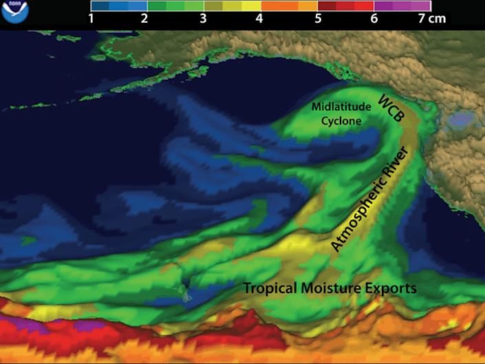 NOAA atmospheric river