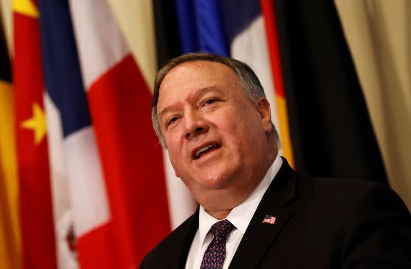 China slams Pompeo for 'spreading rumors' during South America trip