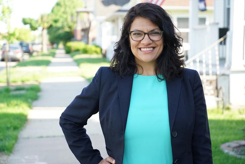 Rashida Tlaibcould become one of the nation's first Muslim women in Congress if she wins in November.