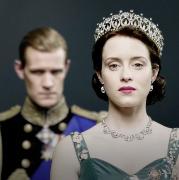 The latest season of 'The Crown' featuring Matt Smith and Claire Foy has hit Netflix. Photo: Instagram