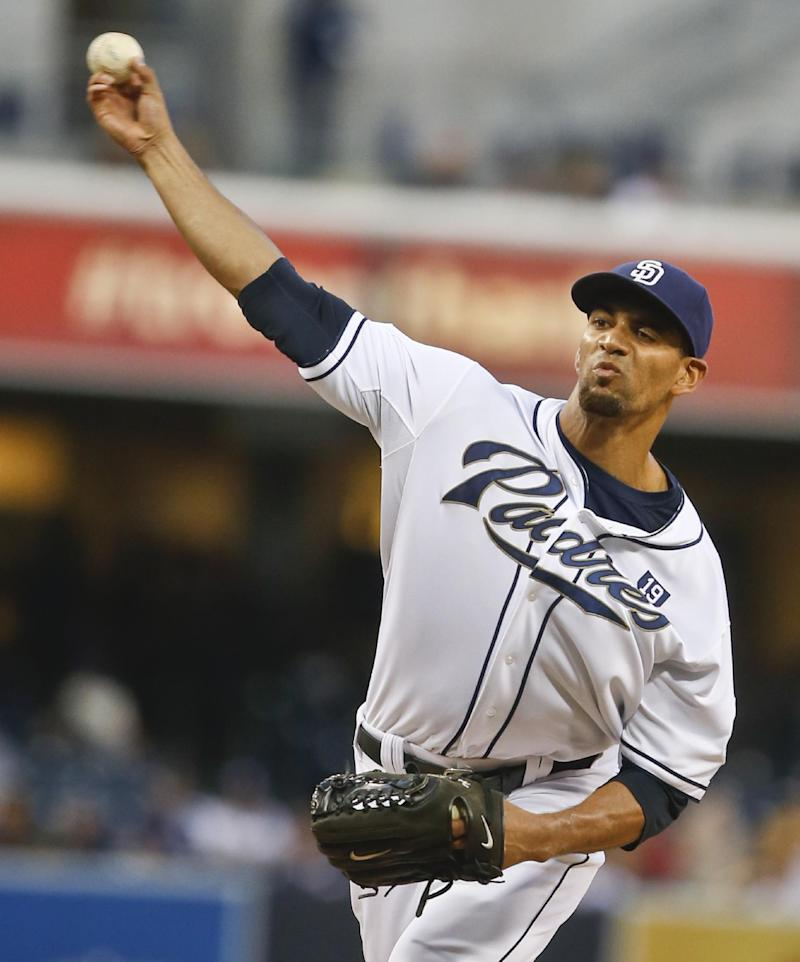 Ross, Almonte lead Padres to 4-1 win over Brewers