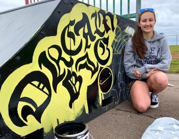 Macy Gotel has really enjoyed working on the project.