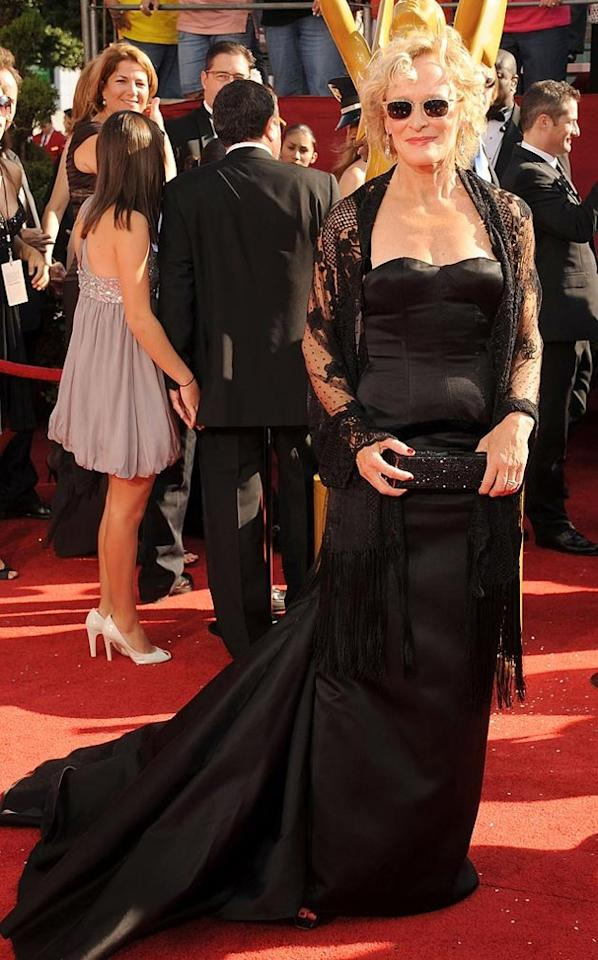 WORST: Glenn Close at the 60th Primetime Emmy Awards held at the NOKIA Theatre on Septmeber 21, 2008.