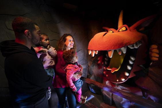 Room on the Broom is new this year (Chessington World of Adventures)