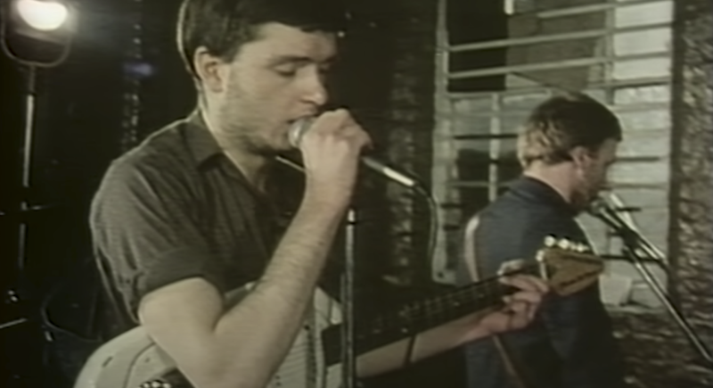 Joy Division - Love Will Tear Us Apart ( capture d'écran Youtube)