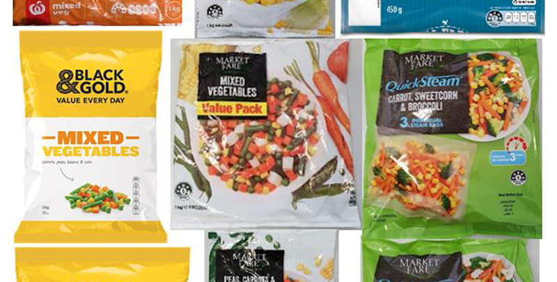 Frozen vegetables recalled from Aussie supermarkets over listeria concerns