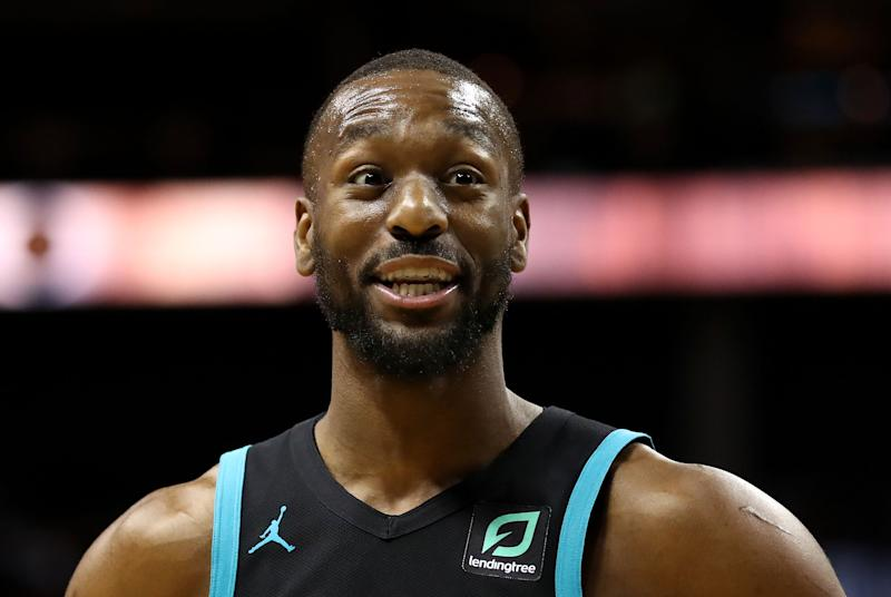 Will Hornets guard Kemba Walker replace Kyrie Irving on the Celtics? (Getty Images)