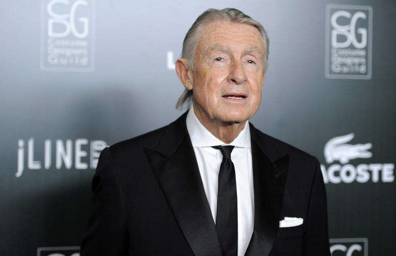 Director Joel Schumacher, recipient of the Distinguished Collaborator Award, arrives at the 13th Annual Costume Designers Guild Awards in Beverly Hills, Calif., Tuesday, Feb. 22, 2011. (AP Photo/Chris Pizzello)