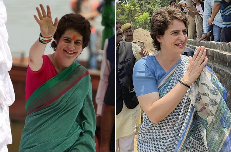 <p>At a roadshow in Wayanad, Kerala, earlier this month, when the city's temperature was 40 degrees with the humidity level hovering around 100 per cent, the Congress leader went for a checkered emerald green sari with a maroon border. During the same tour, her another pick was a mustard yellow and red handloom sari that had a bold red border. </p>